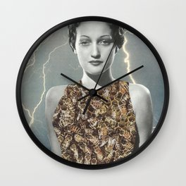 Queen of the Bees Wall Clock