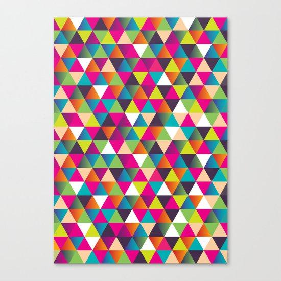 Crazy Pattern Canvas Print