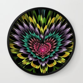 My heart explodes for you Wall Clock