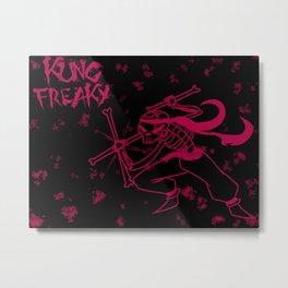 KUNG FREAKY Metal Print