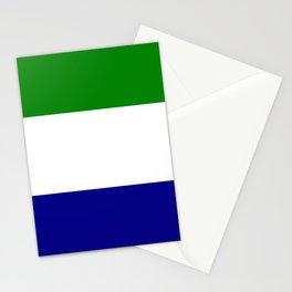 Flag of Sierra Leone Stationery Cards