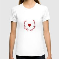 poker T-shirts featuring POKER HEART  by Noly Riv Mir