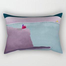 Simple Housing | So close so far away Rectangular Pillow