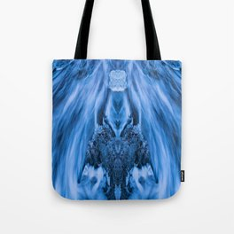 Flowing face Tote Bag