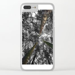 Lost in the Forest Clear iPhone Case