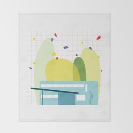 architecture - walter gropius Throw Blanket