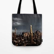 Cactus in Incahuasi island Tote Bag