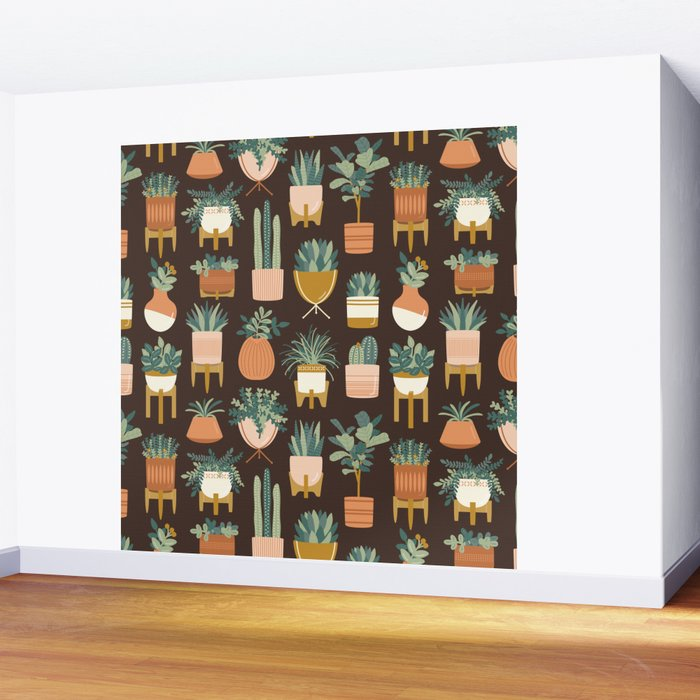 Cacti & Succulents Wall Mural