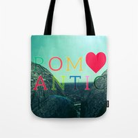romantic Tote Bags featuring ROMANTIC by famenxt