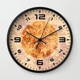 Vintage Ephemera 2 Wall Clock