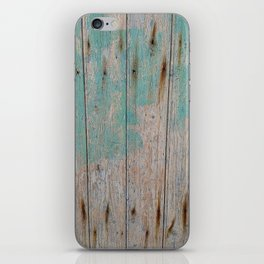 Old Wooden Wall iPhone Skin
