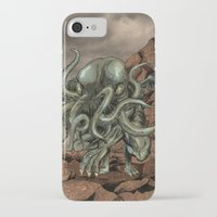 cthulhu iPhone & iPod Cases featuring Cthulhu by MrDenmac