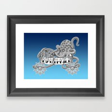 Nauti-Kill Framed Art Print