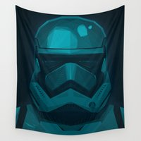 stormtrooper Wall Tapestries featuring Stormtrooper by ANDRESZEN