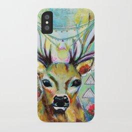Deer Heart iPhone Case