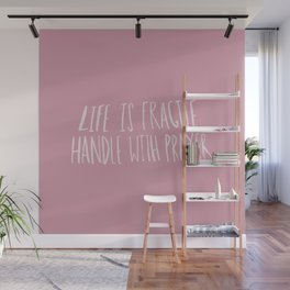 Handle with Prayer x Rose Wall Mural