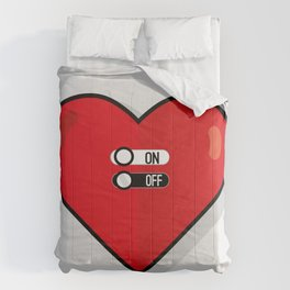 what about love? Comforters