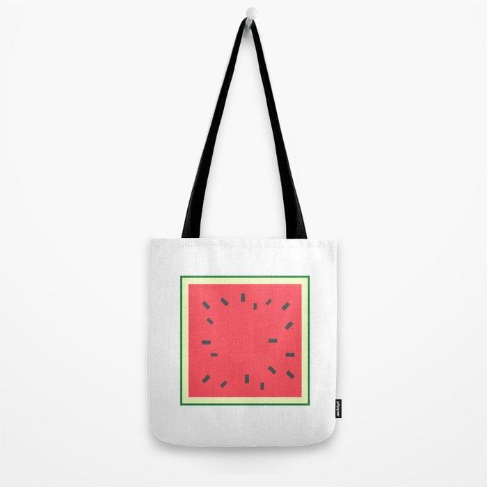 Square Fruit - Watermelon Tote Bag