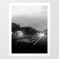 Rain in Ridgewood Art Print