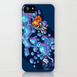 Creating the universe is fun! iPhone Case