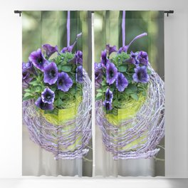 hanging bellflower for home decor Blackout Curtain