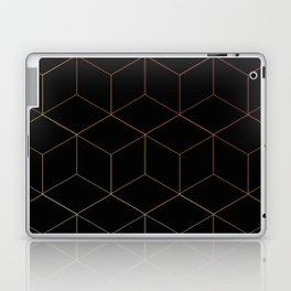 Neon Cubes Laptop & iPad Skin