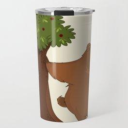 Bear and Madrono Travel Mug