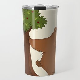 Bear and Madrono Travel Mug
