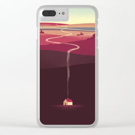 Long Way Home Clear iPhone Case