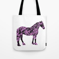 Friesian Scribble Tote Bag