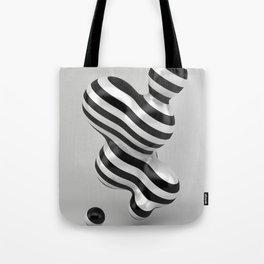 Primitive Stripes Tote Bag