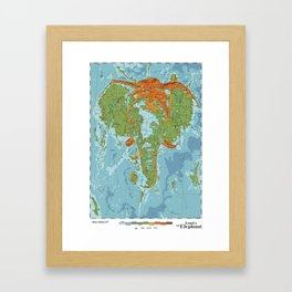 Elephantidae Framed Art Print