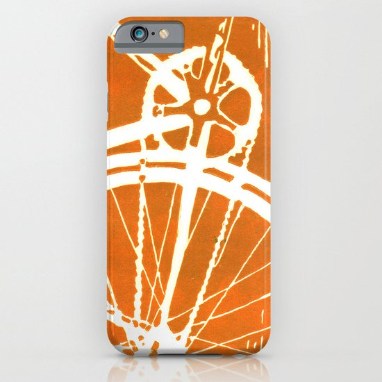 Orange Bike iPhone & iPod Case
