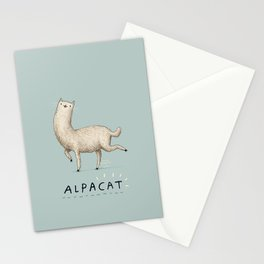 Alpacat Stationery Cards