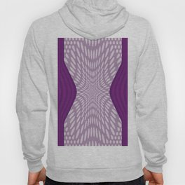 Purple Dots & Stripes Hoody