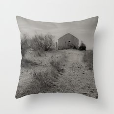 The house of Fear Throw Pillow