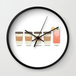 Happy friday! Wall Clock