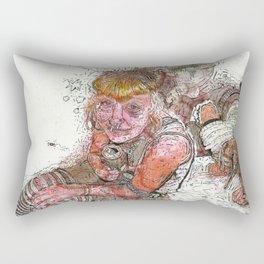 Best buds Rectangular Pillow