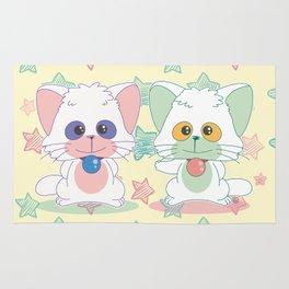 Creamy Mami: Posi and Nega Rug