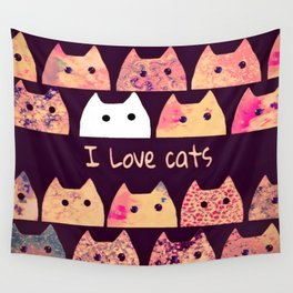 cat-199 Wall Tapestry