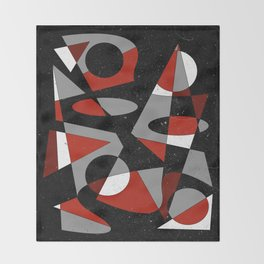 Abstract #116 Throw Blanket