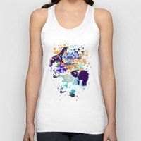 chaos Tank Tops featuring Chaos by Caitlin Victoria Parker