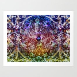 Silent Thought Art Print