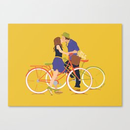 """Townies"" in Love Canvas Print"