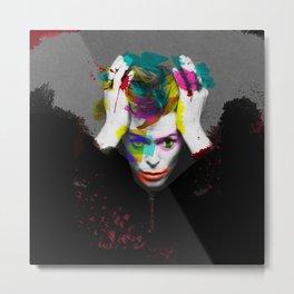 """""""Scary Monsters / Super Freaks"""" - Bowie Metal Print"""