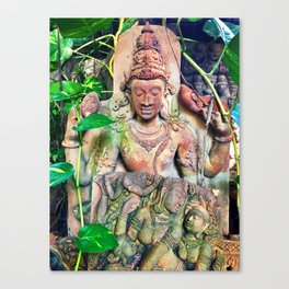 Clay Tablets in the Tropics Canvas Print