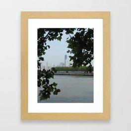 Freedom Through the Tress Framed Art Print