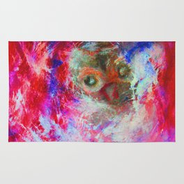 Abstract Owl   #society6 #decor #buyart Rug