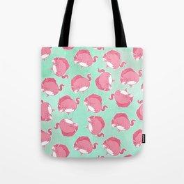 Pink Unicorn LTK pattern Tote Bag