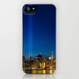 Tribute in Light. New York City, 3 iPhone Case